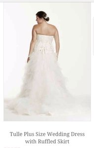 David's Bridal 9v3665 Wedding Dress