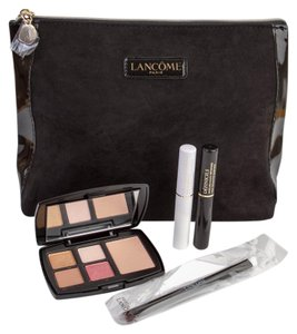Other Lancome 5-Piece Eye Makeup Set (eyeshadows, mascara, base, brush, bag)