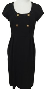 Diane von Furstenberg short dress Navy Blue Empire Waist on Tradesy