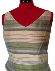 Ann Taylor Top Yellow, taupe, lavendar, olive