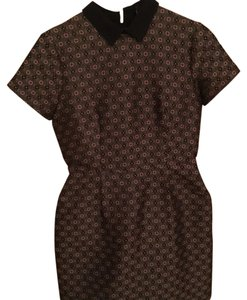 Club Monaco short dress Multi/Print Collared Panel on Tradesy