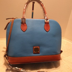 Dooney & Bourke Zip Satchel in SKY