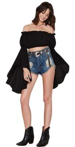 Nasty Gal Party Vintage Top Black