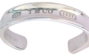 Tiffany & Co. Authentic Tiffany & Co. cuff bracelet 1837 Hallmarked with Pouch