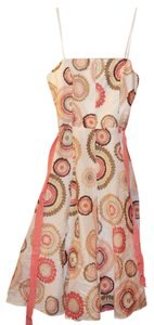 BCBGMAXAZRIA short dress White Print on Tradesy