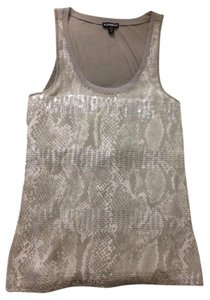 Express Snake Sequin Top