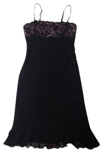 Express Silk Lace Pink Dress