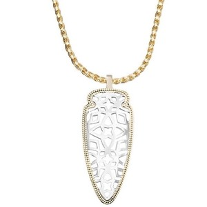 Kendra Scott Kendra Scott Sienna Pendant Necklace In Silver