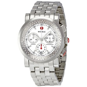 Michele Nwt Michele sport sail diamond white dial watch $1900