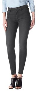 7 For All Mankind High Waist Ankle Skinny Jeans-Dark Rinse