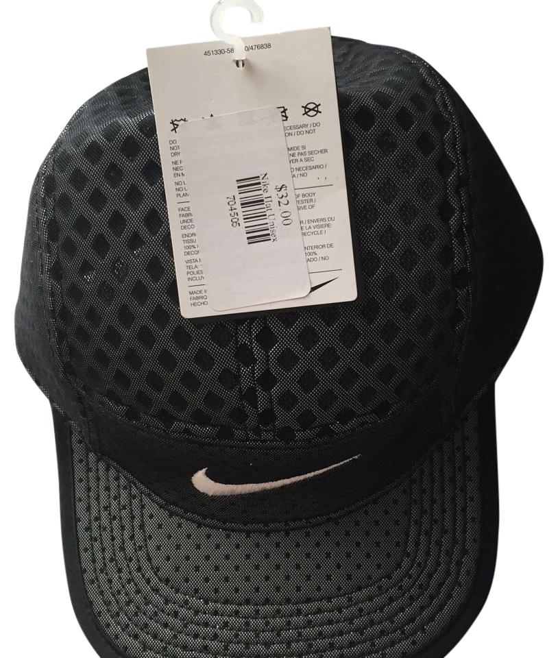 cf0833c1e Nike Black Seasonal Aw84 Veneer Cap Hat 21% off retail