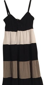 INC International Concepts short dress Black, tan, white on Tradesy