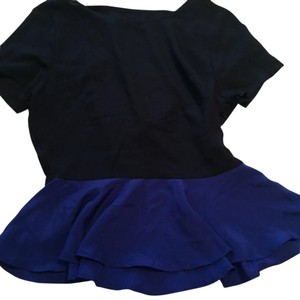 Rory Beca by Forever 21 Top Navy and Royal Blue