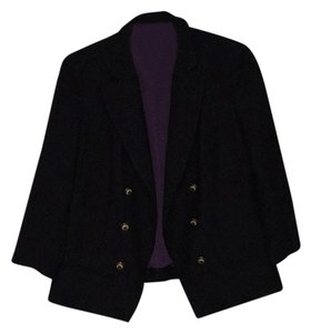 Anthropologie Navy Blazer