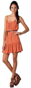 Joie short dress Orange on Tradesy