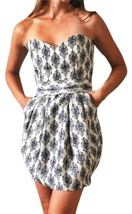 Rubber Ducky Productions, Inc. short dress Black and White on Tradesy