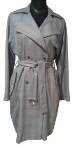 Topshop Double Breasted Trench Statement Trench Coat
