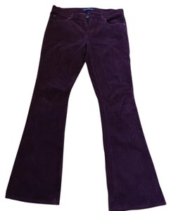 Earl Jean Boot Cut Pants Burgundy