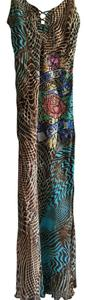 animal print Maxi Dress by Ed Hardy