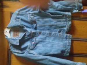 Levi's blue Womens Jean Jacket