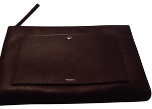 Theory Burgandy Clutch