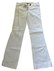 Sanctuary Clothing Straight Pants Pale yellow