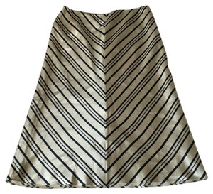 Banana Republic Maxi Skirt Blue & Beige