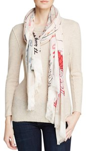 Kate Spade Kate Spade World Map Adventure Scarf Wrap