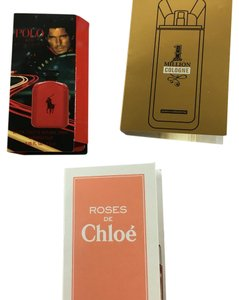 Chloe K Assorted Perfumes Sampled