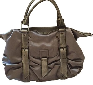Botkier Satchel in Silver/gray Metallic