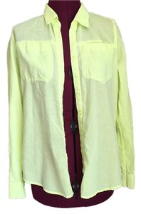 Maurices Button Down Shirt Green