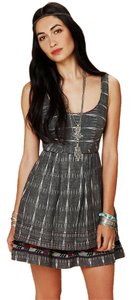 Free People short dress Denim Festival Textured on Tradesy