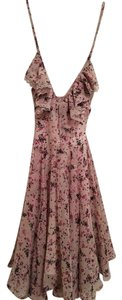 Guess short dress Pink Floral on Tradesy