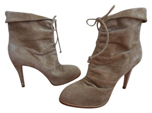 Brian Atwood Beige Boots