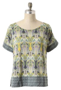 Anthropologie Deletta Graphic Tee Shortsleeve T Shirt