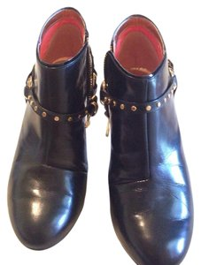 Ted Baker Black & gold Boots