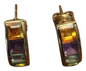 Other Beautiful 14K Multi-Gemstone earrings
