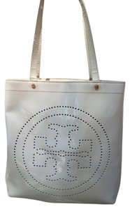 Tory Burch **SALE** Patent Leather White Shoulder Bag