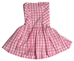 abercrombie kids short dress Pink and white on Tradesy