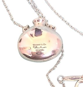 Tiffany & Co. Peretti Sterling Silver Bottle Pendent