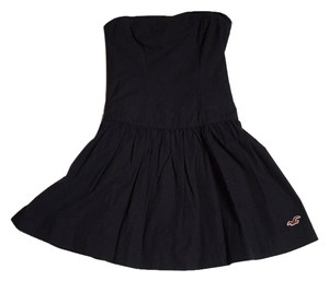 Hollister short dress Navy blue on Tradesy
