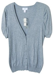 Ann Taylor LOFT Short Sleeve V Neck Cardigan