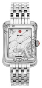 Michele NWT Extreme Butterfly Diamond White Dial Ladies Watch MWW04B000001