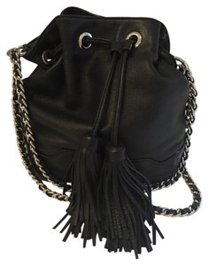 Rebecca Minkoff **SALE** Leather Drawstring Shoulder Bag