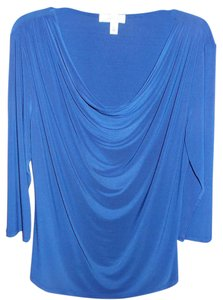 dressbarn Top blue