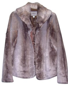 A.B.S. by Allen Schwartz Faux Fur Fur Coat