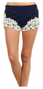 Style Book Shorts Navy Blue
