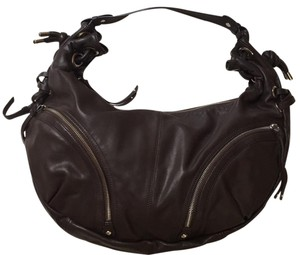 Hype Hobo Leather Shoulder Bag