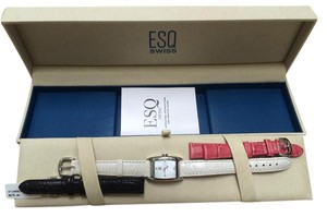 ESQ Movado ESQ Movado Ladies Watch With interchangeable leather bands