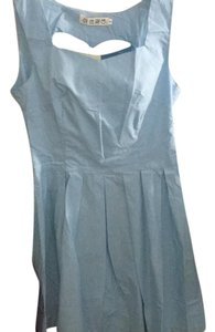 Other short dress Baby blue on Tradesy